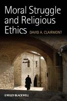 Moral Struggle and Religious Ethics PDF