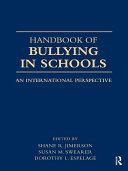 International Handbook of School Bullying