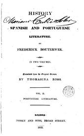 History of Spanish and Portuguese Literature: Volume 2