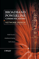 Broadband Powerline Communications
