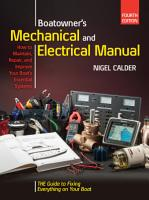 Boatowners Mechanical and Electrical Manual 4 E PDF