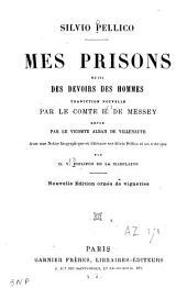 Mes prisons: suivi des Devoirs des hommes