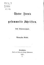 Gesammelte Schriften: Bände 1-4