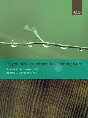 Psychiatry Essentials for Primary Care