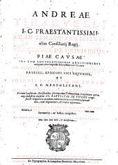 Andreae Tiraquelli ... Tractatus de priuilegijs piae causae vna cum locupletissimis additionibus numquam alias impressis solertissimorum virorum Io. Aloysij Ricij ... ac Ioannis Baptistae De Thoro ... Accessit praeterea Summa priuilegiorum piarum causarum, ... eiusdem Baptistae De Thoro congesta; ... Necnon tractatus alter De incertis, ... à Io. Maria Nouario ... vna cum summarijs, ...