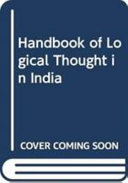 Handbook of Logical Thought in India