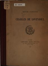 Charles de Lovenjoul