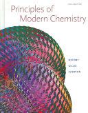 Principles of Modern Chemistry