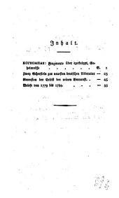 Hamann's Schriften: Band 6