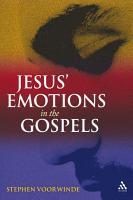 Jesus  Emotions in the Gospels PDF