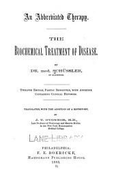 An Abbreviated Therapy: The Biochemical Treatment of Disease