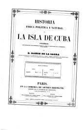 Historia física, política y natural de la isla de Cuba: Historia natural. Mamíferos y aves, Volume 3