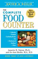 The Complete Food Counter PDF