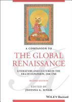 A Companion to the Global Renaissance PDF