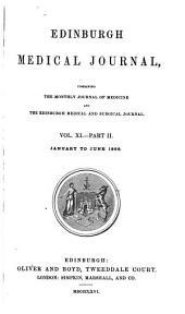 Edinburgh Medical Journal: Volume 11, Part 2
