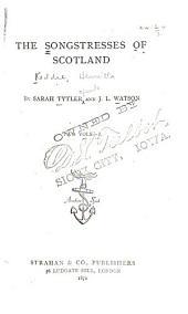 Lady Grisell Baillie. Jean Adam. Mrs. Cockburn. Miss Jean Elliot. Miss Susanna Blamire. Jean Glover. Mrs. Elizabeth Hamilton
