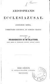 Aristophanes comœdiæ: Τόμοι 3-4