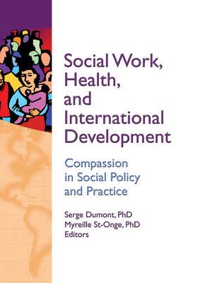 Social Work  Health  and International Development