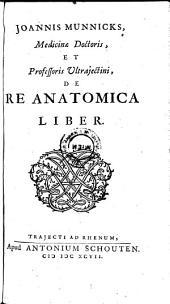 De re anatomica liber