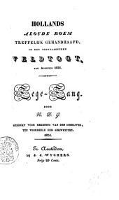 Hollands aloude roem treffelijk gehandhaafd, in den Tiendaagschen Veldtogt, van Augustus 1831: zege-zang