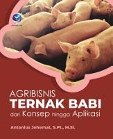 Agribisnis Ternak Babi   dari Konsep hingga Aplikasi PDF