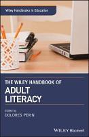 The Wiley Handbook of Adult Literacy PDF