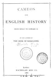 Cameos from English history  By the author of The heir of Redclyffe PDF