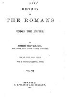 History of the Romans Under the Empire PDF