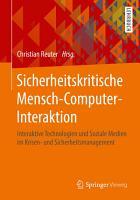 Sicherheitskritische Mensch Computer Interaktion PDF