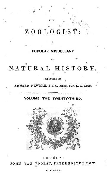 The Zoologist PDF