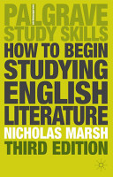 How to Begin Studying English Literature PDF