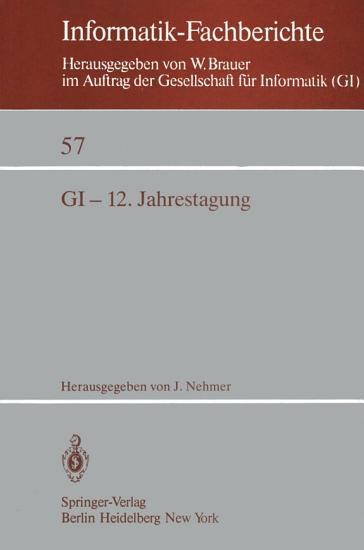 GI 12  Jahrestagung PDF