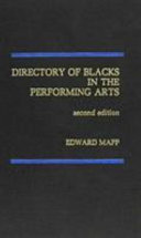 Directory of Blacks in the Performing Arts PDF