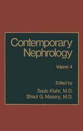 Contemporary Nephrology: Volume 4