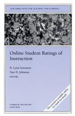 Online Student Ratings of Instruction PDF