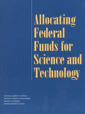 Allocating Federal Funds for Science and Technology