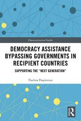 Democracy Assistance Bypassing Governments in Recipient Countries PDF