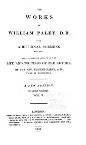 The Works of William Paley: Natural Theology