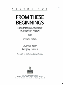 From These Beginnings PDF