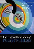 The Oxford Handbook of Polysynthesis PDF