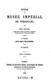 Notice du musee imperial de Versailles. 2. ed: Volume1