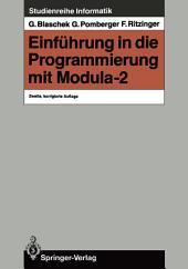 Einführung in die Programmierung mit Modula-2: Ausgabe 2