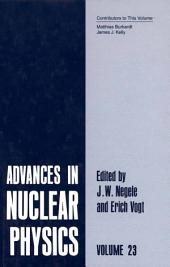 Advances in Nuclear Physics: Volume 23