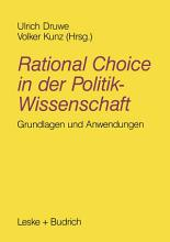 Rational Choice in der Politikwissenschaft PDF