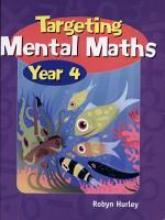 Targeting Mental Maths  Year 4 PDF