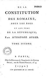 Oeuvres posthumes d'Athanase Auger, contenant discours de Cicéron etc