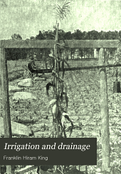 Irrigation and Drainage: Principles and Practice of Their Cultural Phases
