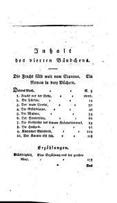 Kleine Romane, Erzählungen, Anecdoten und Miscellen: Band 4