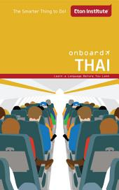 Onboard Thai Phrasebook