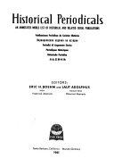 Historical Periodicals PDF